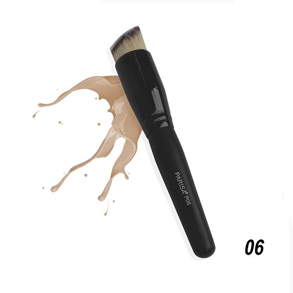 Кисть Р-06 для нанесения тональных флюидов и кремов